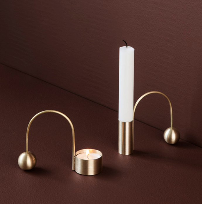 "ferm LIVING Balance Candle Holder Brass, $79, [Design Stuff](https://www.designstuff.com.au/ferm-living-balance-candle-holder-brass/|target=""_blank""