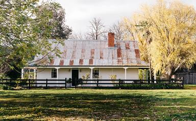 The Cottage at Dunmore Farm in Victoria