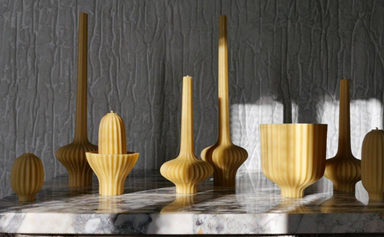 The chicest candlesticks in town