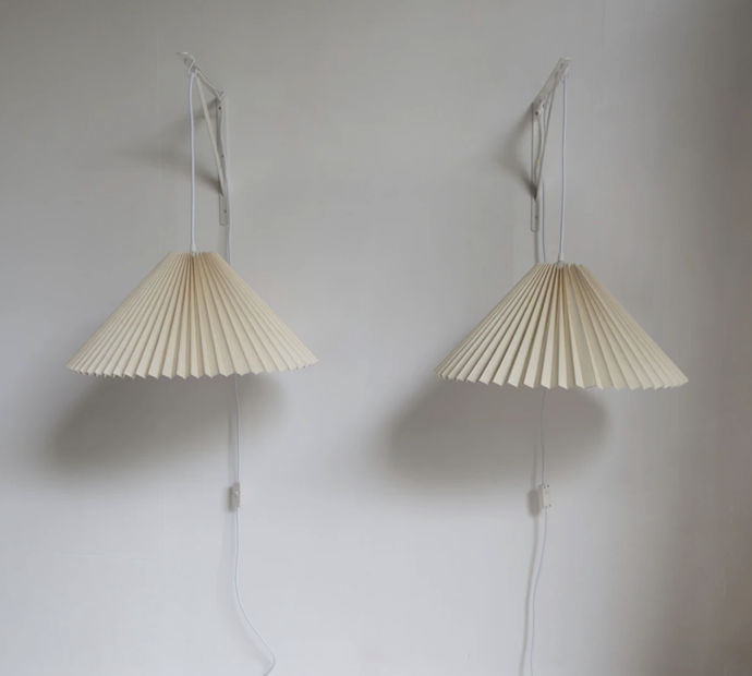 "Large Danish Pleated Pendant Shade, $340, [Curated Spaces](https://www.curatedspaces.com.au/collections/all-furniture/products/danish-pleated-pendant|target=""_blank""