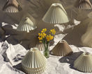 Trend alert: Pleated lamps and homewares
