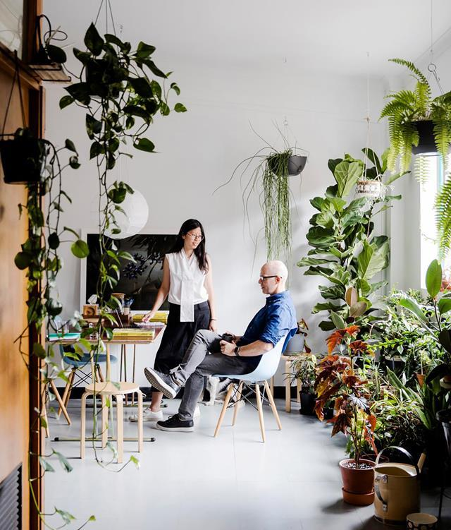 """Evi Oetomo, a Sydney-based designer and artist, considers herself a 'midwife', helping others to deliver their creative statements. She shares [her studio space](https://www.homestolove.com.au/women-in-design-evi-oetomo-19873
