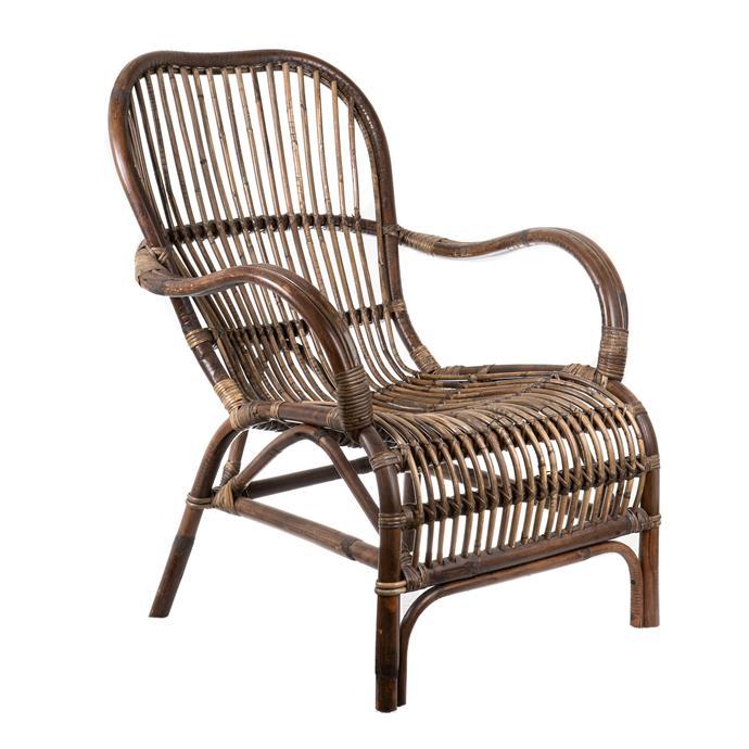 "Seville Rustic Rattan Armchair, $342, [Temple & Webster](https://www.templeandwebster.com.au/Seville-Rustic-Rattan-Armchair-FUR96-FLRA1413.html|target=""_blank""|rel=""nofollow"")"