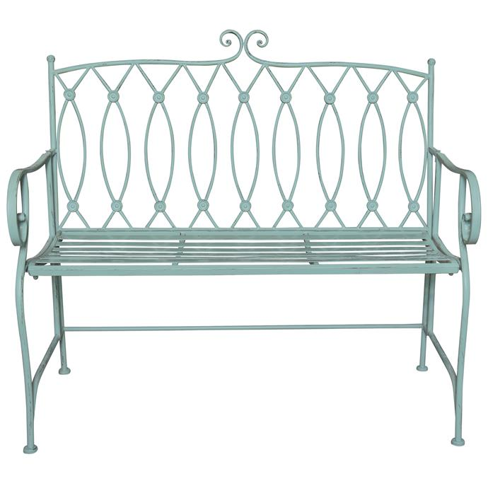 "Sage Sacha Outdoor Bench, $289, [Temple & Webster](https://www.templeandwebster.com.au/Sage-Sacha-Bench-MIB-33-CHAB1556.html|target=""_blank""