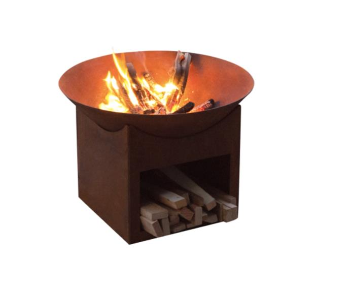 "Glow Tambo Cast Iron Fire Pit, $69, [Bunnings](https://www.bunnings.com.au/glow-tambo-cast-iron-fire-pit_p3171835|target=""_blank""