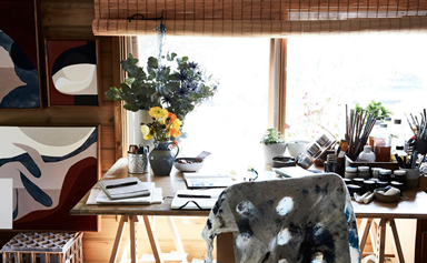 The inspiring homes and studios of 16 Australian artists