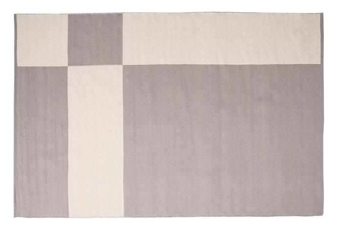"Johanna Gullichsen Uranus rug in Grey (1.6m x 2.4m), $1553, [Finnish Design Shop](https://www.finnishdesignshop.com/textiles-rugs-carpets-wool-rugs-uranus-rug-160-240-grey-p-28396.html?region=au&utm_source=google&utm_medium=surfaces&utm_campaign=au&utm_content=free-google-shopping-clicks&gclid=Cj0KCQjwyJn5BRDrARIsADZ9ykFu256XssOthBxSffLZe4126-MACwMXhLfwfbLxVf2wB7TATwlidKgaAjAgEALw_wcB|target=""_blank""