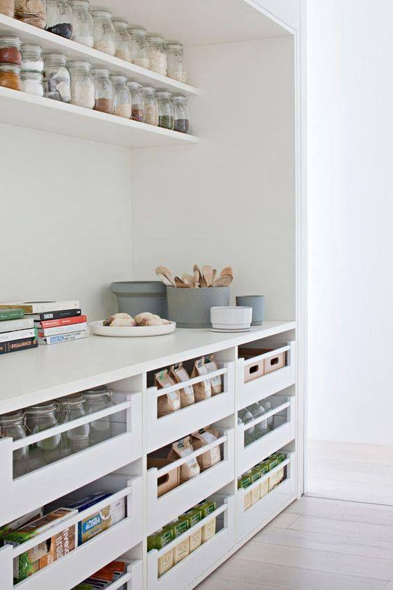 "This [perfectly organised butler's pantry](https://www.pinterest.com.au/pin/541769030179033212/?nic_v1=1apIvaybjDUlVZLazl%2FhsIdYEMCmFR1bF7Jh52sIq1NbOIiCQsaVssHLfceE9Ymtml|target=""_blank""