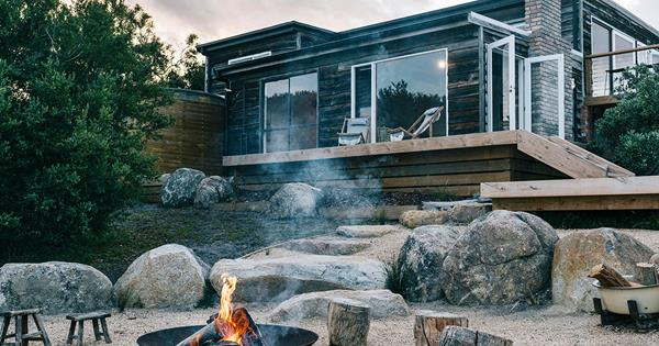 Whale Song Shack: A holiday home on Tasmania's east coast