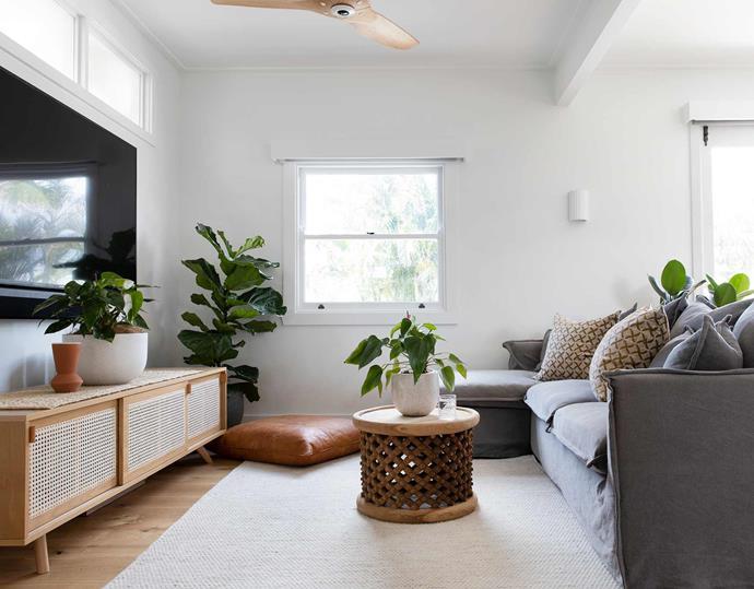 Plenty of natural light floods the living spaces.