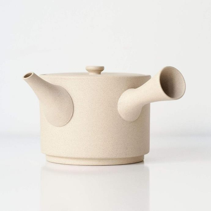 "Jinsui Kyusu Japanese teapot, $95, [Zen Wonders](https://zenwondersmatcha.com.au/collections/teaware/products/white-jinsui-kyusu-580ml-japanese-teapot|target=""_blank""|rel=""nofollow"")"