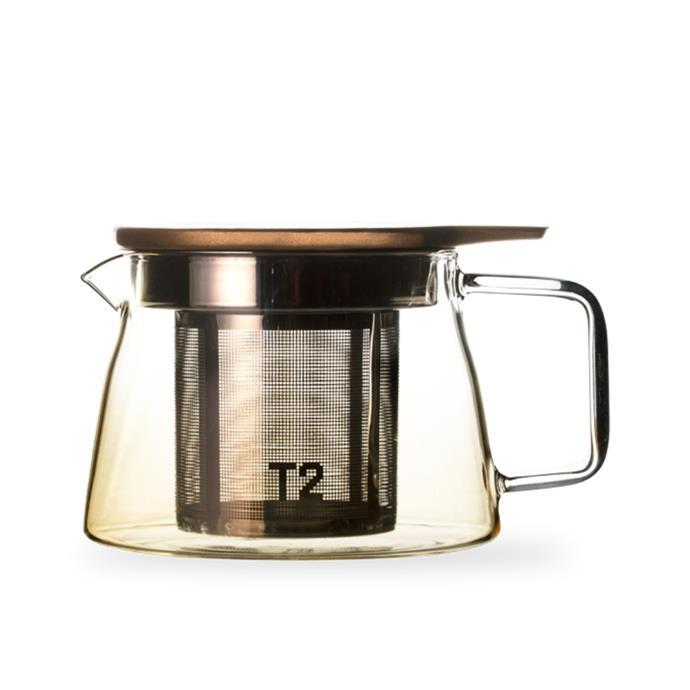 "Glass coloured ombre amber small teapot, $36, [T2](https://www.t2tea.com/en/au/teawares/t2-teaset-glass-coloured-ombre-amber-small-teapot-H205BA229.html|target=""_blank""|rel=""nofollow"")"