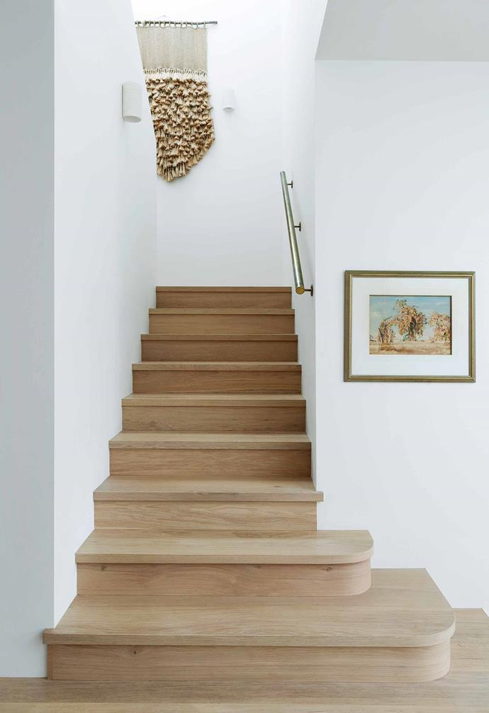"**Stairway** A jute hanging from [Blu Peter](https://blupeter.com.au/|target=""_blank""