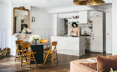 A pastry chef's impeccable Parisian apartment