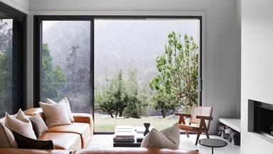 A modern farmhouse style weekender in the NSW Central Coast hinterland