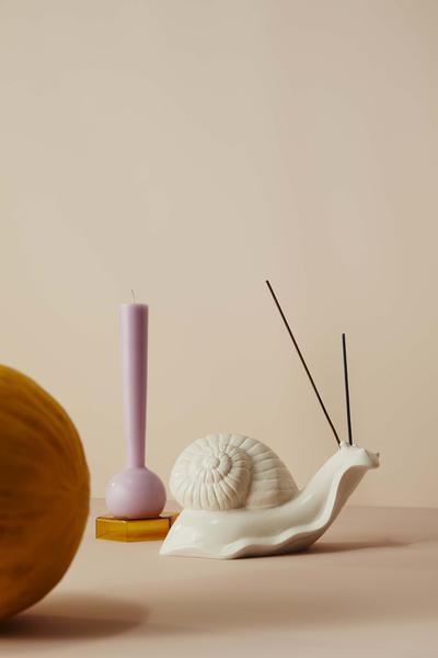 "Monsieur Escargot the Snail, $249, [Maison Balzac](https://www.maisonbalzac.com/products/monsieur-escargot-the-snail target=""_blank"" rel=""nofollow"")"