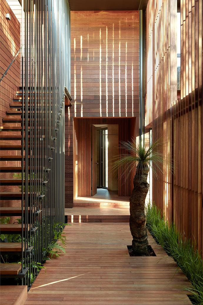 """The [clever architecture](https://www.homestolove.com.au/architectural-homes-19696