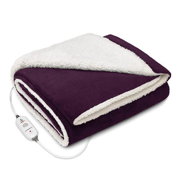 "Day Dreamer Reversible Plush Heated Throw, $109.95, [Kambrook](https://kambrook.com.au/products/day-dreamer-reversible-plush-heated-throw?variant=31321208717425|target=""_blank""