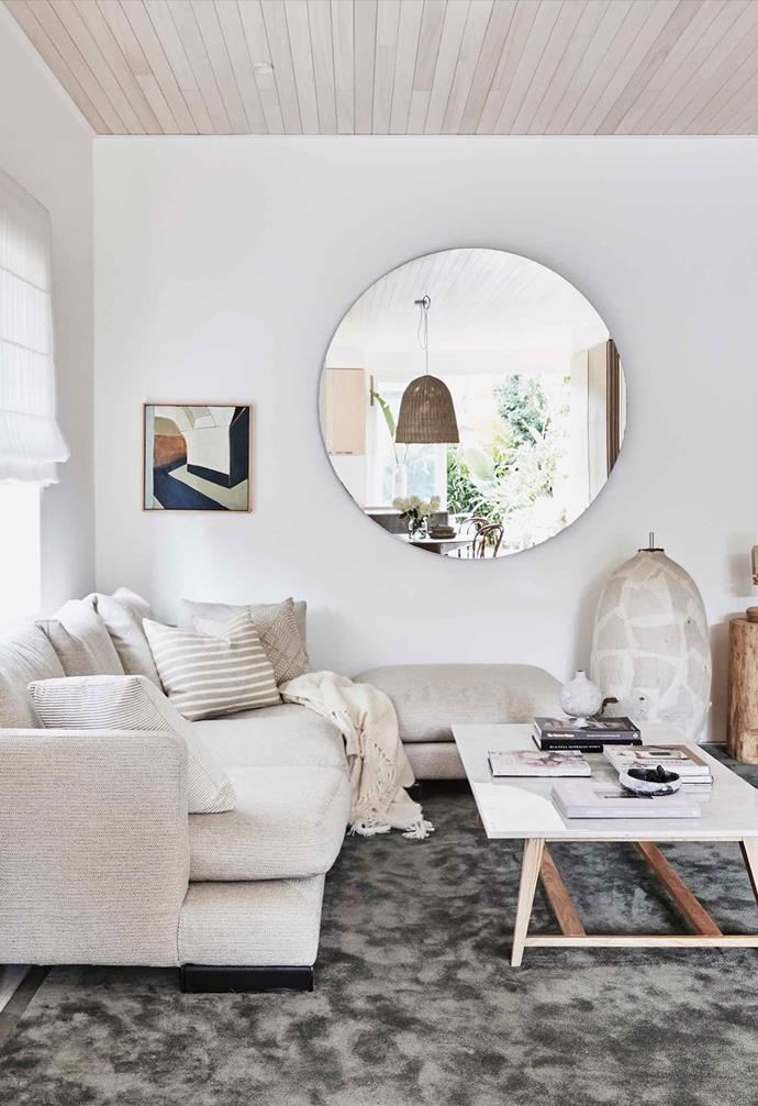 """Interior designer Kristy McGregor injected her own version of coastal cool in her renovated [Bondi abode](https://www.homestolove.com.au/kristy-mcgregor-house-21306