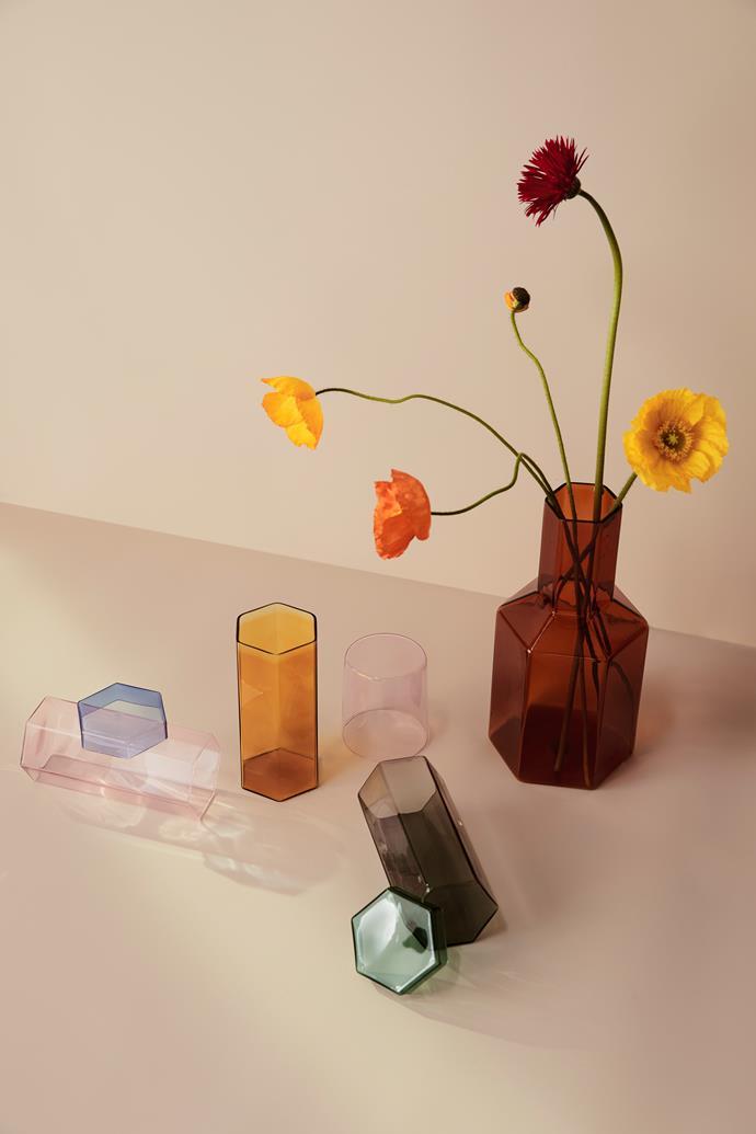 "[Coucou carafe](https://www.maisonbalzac.com/products/coucou-carafe-129|target=""_blank""|rel=""nofollow""), $129, [Coucou tall glass set](https://www.maisonbalzac.com/products/coucou-carafe-129|target=""_blank""|rel=""nofollow""), $89"