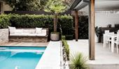 A relaxed Sydney garden with clever outdoor lighting