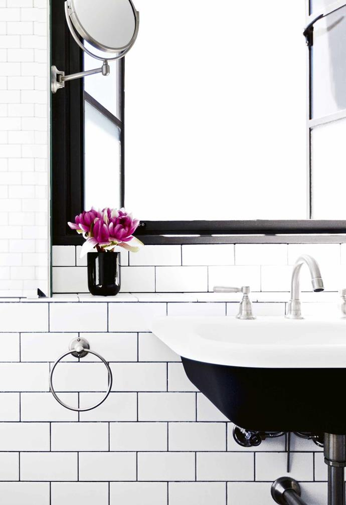 New fixtures can help modernise a dated bathroom. *Design: Tom Ferguson | Photography: Tom Ferguson | Story: Inside Out*