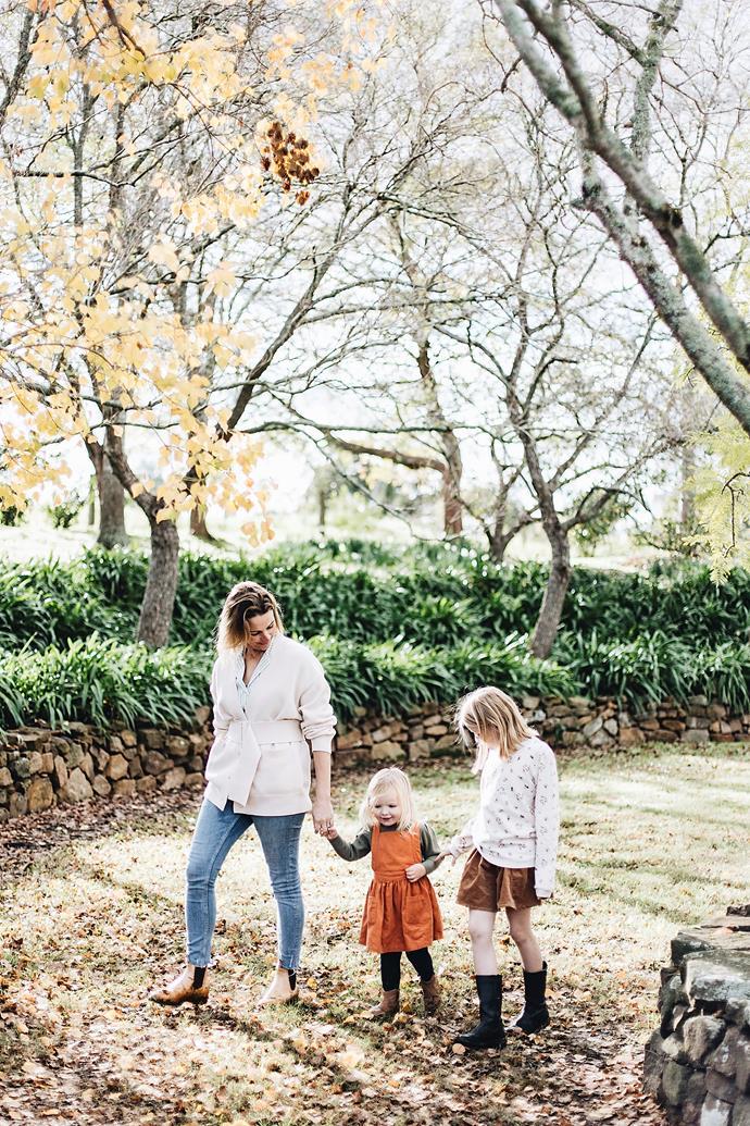 """I love raising our girls here,"" says Jane."