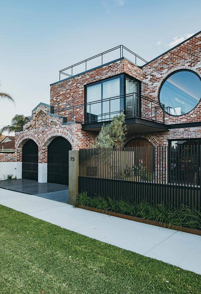 "The bulk of this [industrial-style brick house in Perth](https://www.homestolove.com.au/brick-house-perth-19916|target=""_blank"") is comprised of reclaimed red bricks from homes and buildings in the area that were being demolished. Photo: Lajos Varga 