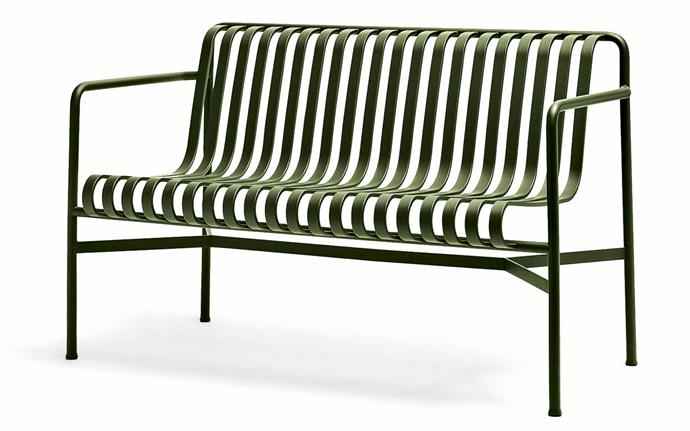 Organic tones meet modern lines in this bench by brothers Ronan and Erwan Bouroullec. 'Palissade' dining bench, $950, [Hay](http://hayshop.com.au/).