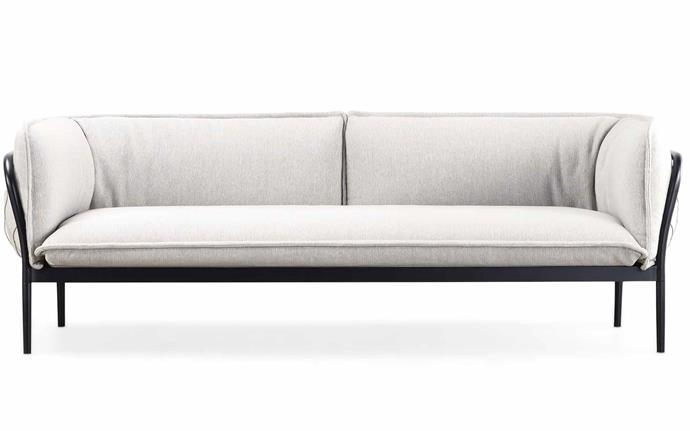 Designed by Adam Goodrum and clad in Mokum's hardy outdoor 'Reef' fabric, this long and lean option is perfect for naps. Time to put your feet up! 'Trace' sofa, from $6600, [Tait](https://madebytait.com.au/product/trace-sofa-adam-goodrum/).