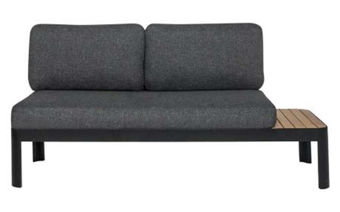 Aluminium, teak detail and plush cushions give you the best of everything. 'Adelphi' modular sofa, $950, [Freedom](https://www.freedom.com.au/).