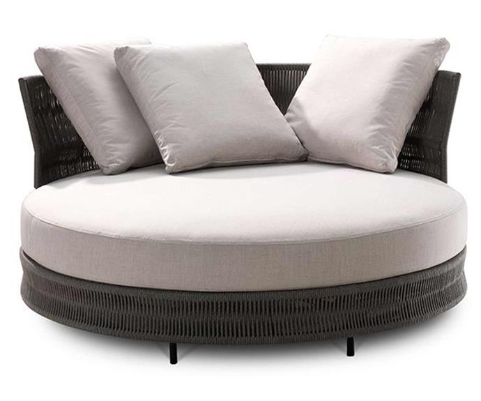 """Lounge poolside in style with this circular sofa that's sure to be the perfect finishing touch to any outdoor setting. 'Delta Outdoor' circle sofa, $1990, [King Living](https://www.kingliving.com.au/furniture/outdoor-furniture/delta-outdoor-iii-circle-sofa/delta-outdoor-circle-sofa