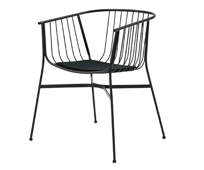 As much an engineering feat as a place to sit, this powder-coated pastel treat is a sweet option. SP01 'Jeanette' chair, $705 (includes cushion), [Space Furniture](http://www.spacefurniture.com.au/).