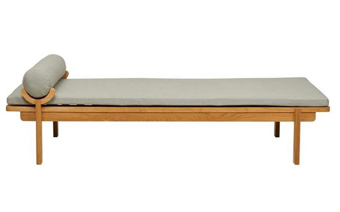 """Relax in style on this sophisticated day bed all summer long. 'Clemonte' sunbed, $3915, [GlobeWest](https://www.globewest.com.au/browse/outdoor/clemonte-sunbed#product-popup