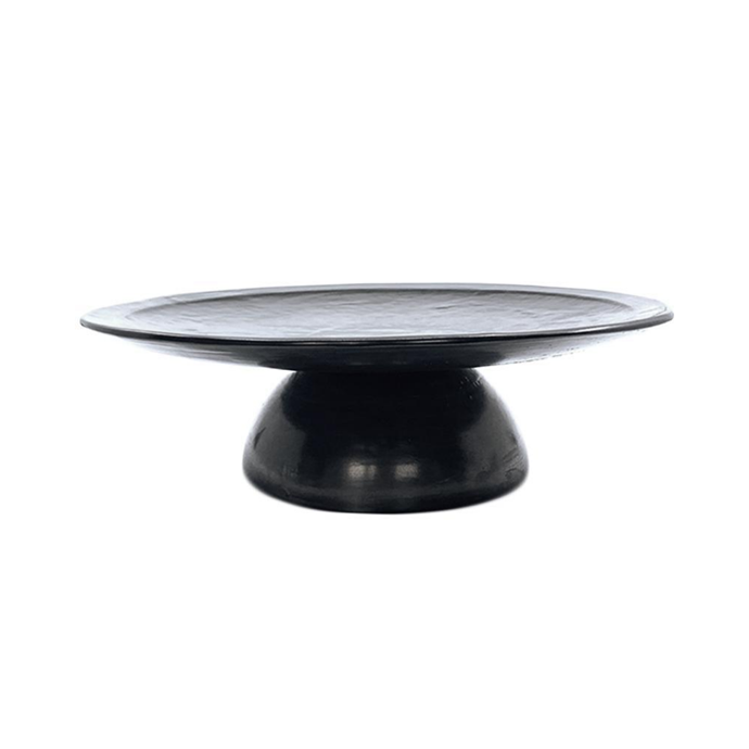 """Cake plate in Slate, $149.95, [Batch Ceramics](https://batchceramics.com.au/collections/cake-stands/products/cake-plate-slate