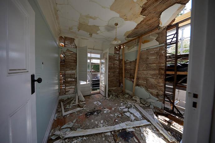 House 1 interior.