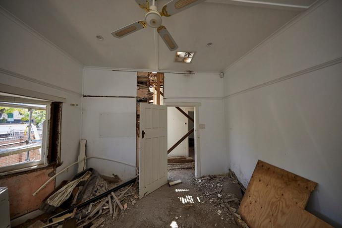 House 4 interior.