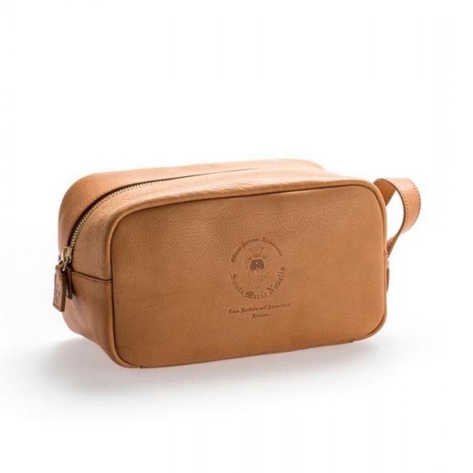 "Leather toiletry bag, $270, [Santa Maria Novella](https://buy.smnovella.com.au/7013084.html|target=""_blank""|rel=""nofollow"")"