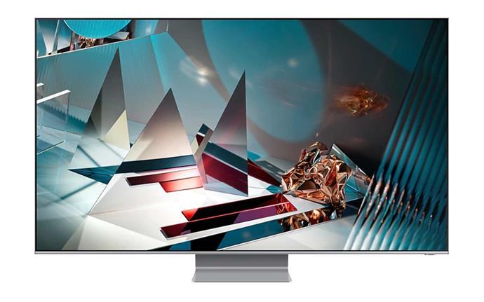 "Samsung 65-inch Q800T 8K QLED Smart TV, $4795, [Harvey Norman](https://www.harveynorman.com.au/samsung-65-inch-q800t-8k-qled-smart-tv.html|target=""_blank""|rel=""nofollow"")."