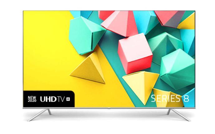 "Hisense 75S8 Series 8 75"" 4K UHD Smart TV [2020], $1995, [JB Hi-Fi](https://www.jbhifi.com.au/products/hisense-75s8-series-8-75-4k-uhd-smart-tv-2020|target=""_blank""|rel=""nofollow"")."