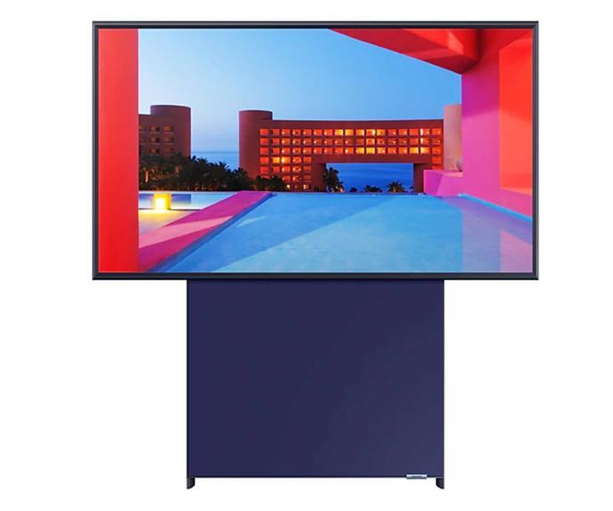 "43"" The Sero QLED 4K Smart TV, $2049, [Samsung](https://www.samsung.com/au/tvs/the-sero-ls05t/|target=""_blank""|rel=""nofollow"")."