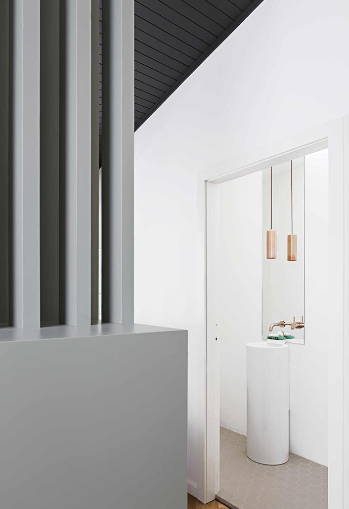 """**Details** The copper [pendant light](https://www.homestolove.com.au/pendant-light-shopping-guide-20225