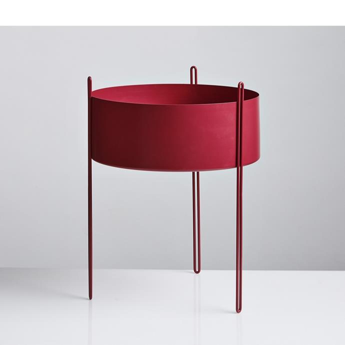 """Pidestall tall flowerpot, $399, [RJ Living](https://www.rjliving.com.au/buy-pidestall-flowerpot-tall-.html target=""""_blank"""" rel=""""nofollow"""")"""