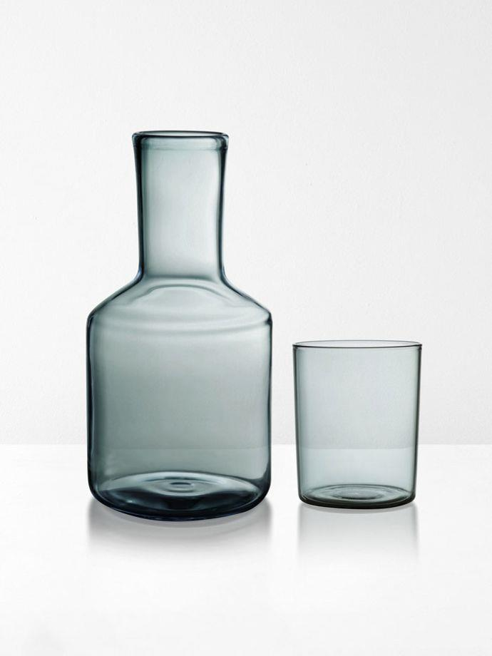 "Carafe & Glass By Maison Balzac in Smoke, $89, [Aura Home](https://www.aurahome.com.au/carafe-maison-balzac-smoke|target=""_blank""|rel=""nofollow"")"