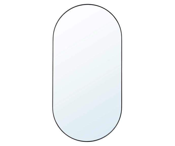 LINDBYN mirror, $79, [IKEA](https://www.ikea.com/au/en/p/lindbyn-mirror-black-80458622/).