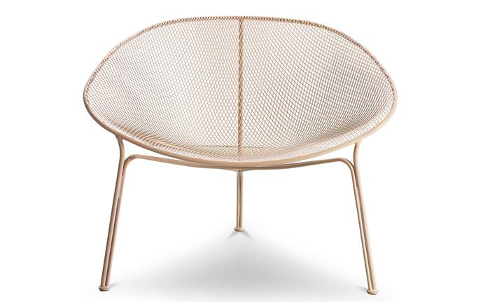 """With an irresistible curved shape, this outdoor chair is the perfect place to curl up all summer long. Luna outdoor chair, $1300, [King Living](https://www.kingliving.com.au/art-of-living-sale