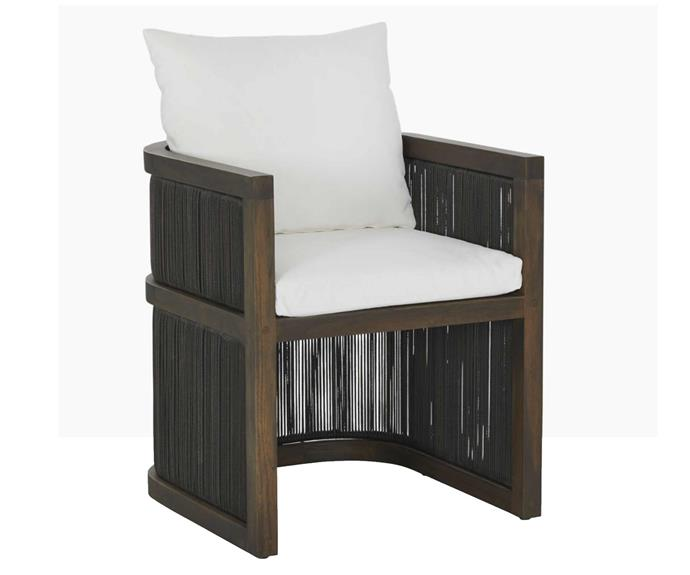 """With looks like these, who could possibly resist lounging on the deck throughout the warmer months? Como outdoor dining chair, $1595, [Coco Republi](https://www.cocorepublic.com.au/como-outdoor-dining-chair
