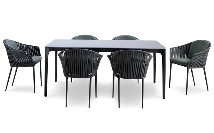 """There's nothing better than entertaining outdoor, and this timeless outdoor setting is the perfect way to do it. Quay dining table, $3320, and Quay outdoor dining chair, $626, [King Living](https://www.kingliving.com.au/furniture/dining-tables-chairs/quay-dining-table/quay-dining-table-6-seater