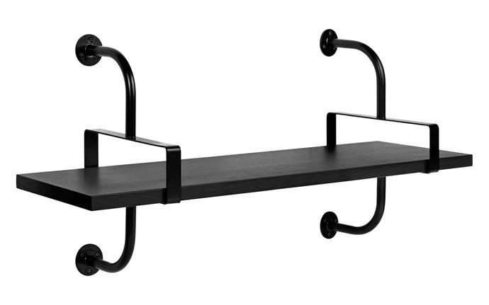 "Gubi 'Matégot Démon' metal and veneer wall shelf, from $479, [Luumo Design](https://luumodesign.com/|target=""_blank""
