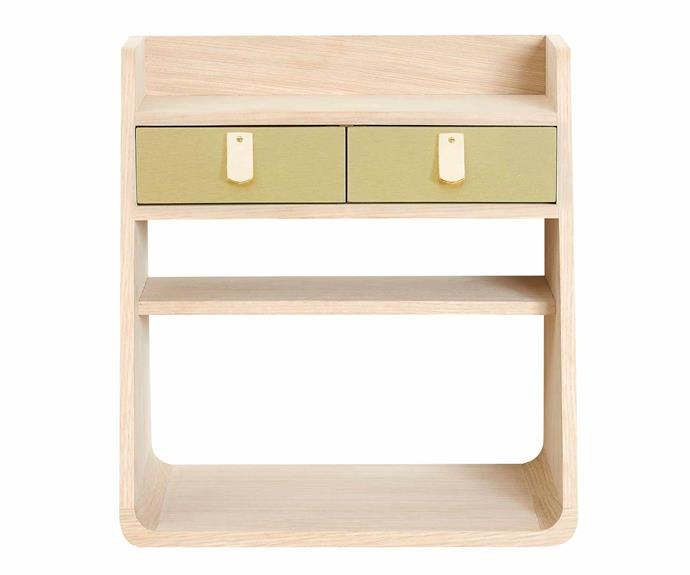 "Suzon oak wall shelf, $602, [Finnish Design Shop](https://www.finnishdesignshop.com/|target=""_blank""